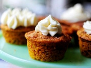 pumpkin pie muffin