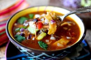 savory tortilla soup
