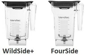 Blendtec WildSide+ and FourSide jars