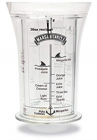 Margaritaville measuring jar