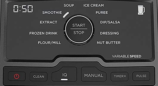Ninja CT810 Chef Blender Panel