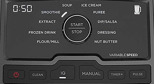 Ninja Chef Blender Panel